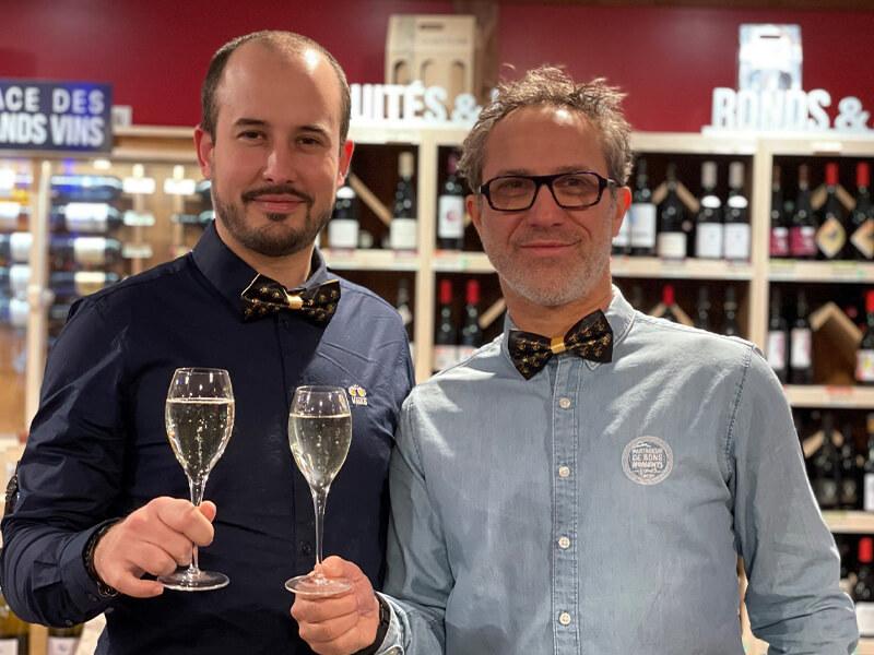 Nicolas et Grégory du V and B Cormeilles en Parisis