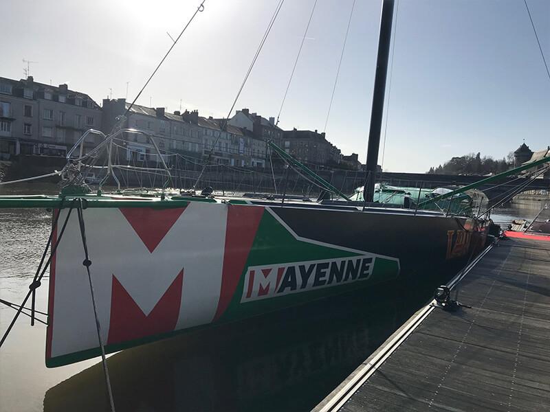 bateau V and B Mayenne à Laval 3