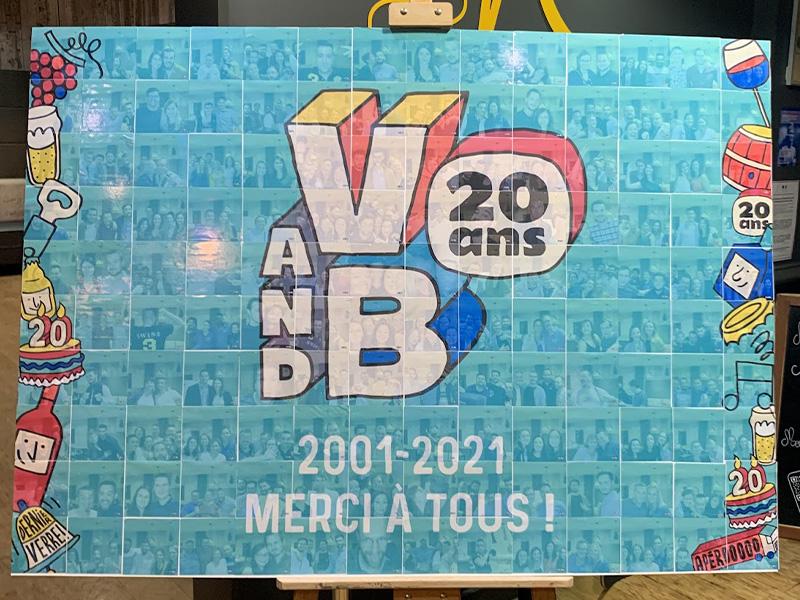 Soirée d'entreprise V and B 2021